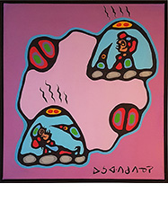 Norval Morrisseau Sweat Lodge