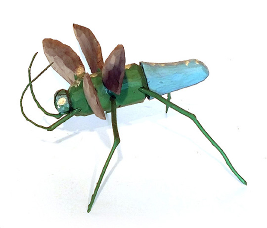 Ransford Naugler Green Flying Bug