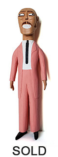 Sulton Rogers Man in Pink Suit