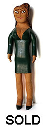 Sulton Rogers Woman in Green Dress