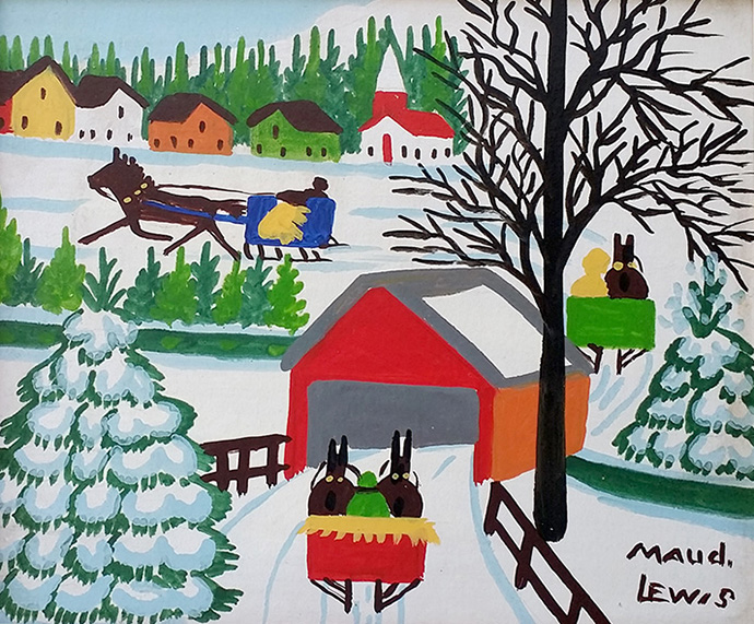 Maud Lewis Covered Bridge
