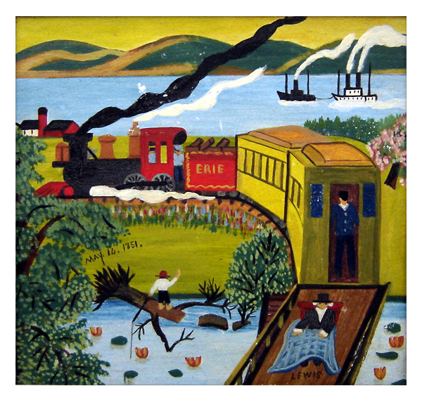 Maud Lewis The Erie Train